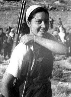 Miliciana republicana durante la Guerra Civil española (1.936-1.939)